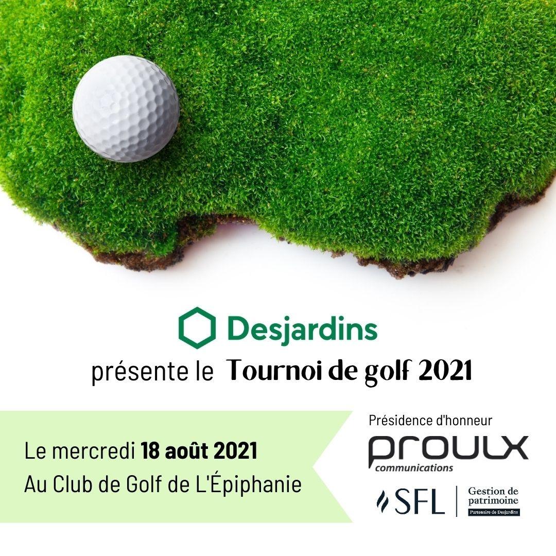 Photo Tournoi golf annuel de la CCMLA - 18 août 2021