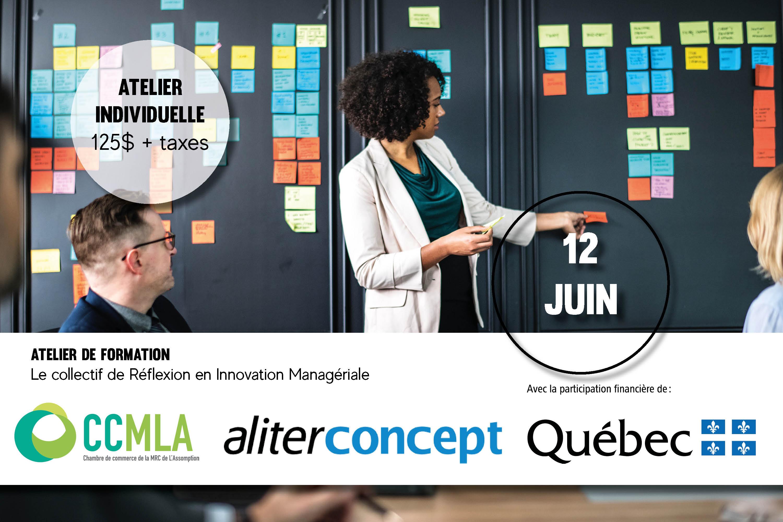 Photo Atelier de formation - Le collectif de Réflexion en Innovation Managériale - 12 juin 2019