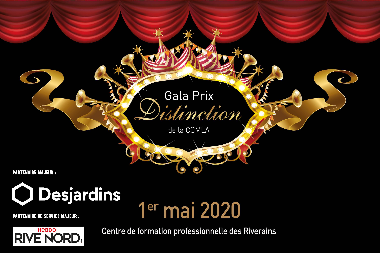 Photo Gala Prix Distinction 2020 - 1er mai 2020