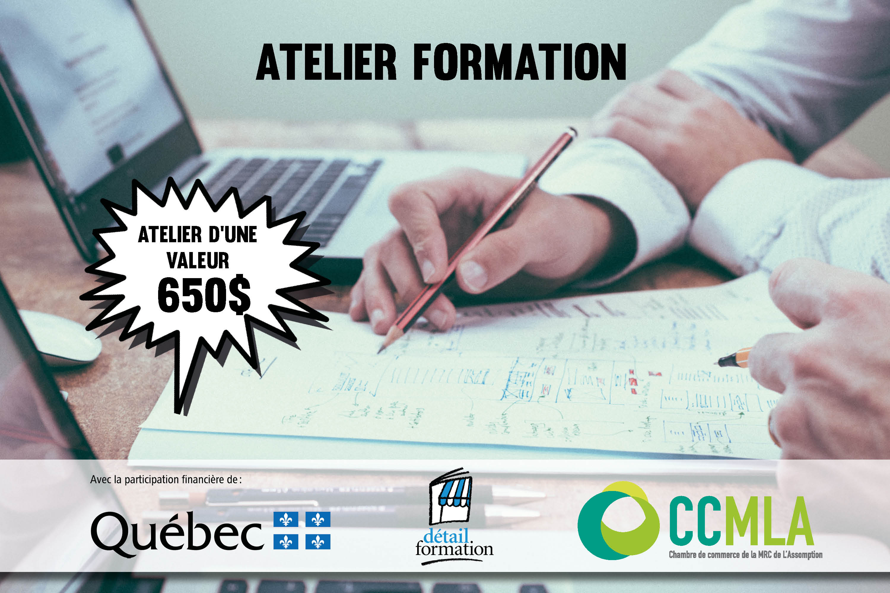 Photo Atelier formation - Recrutement web - 17 mars 2020