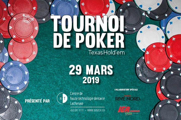 Photo Tournoi de poker - 29 mars 2019