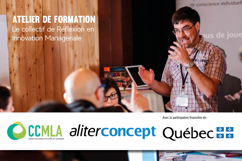 Photo Atelier de formation - Le Collectif de Réflexion en Innovation Managériale (CRIM) - 28 novembre 2019