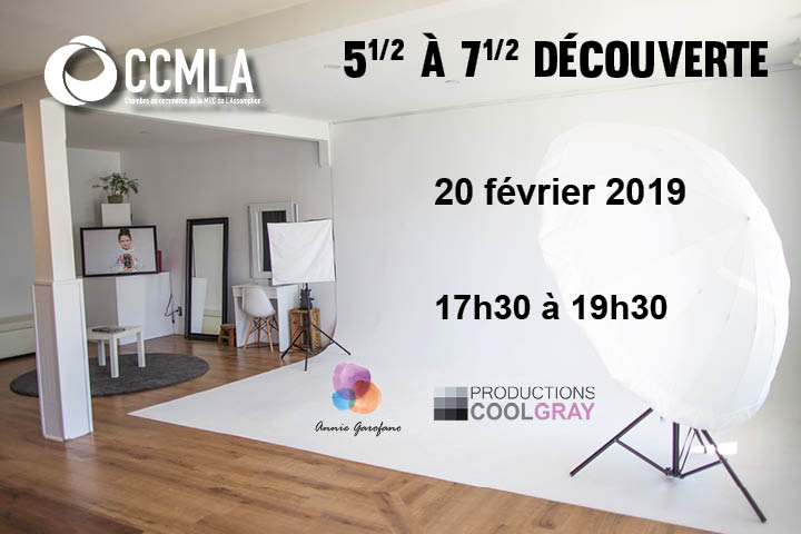 Photo 5½ à 7½ découverte Productions Coolgray - 20 février 2019
