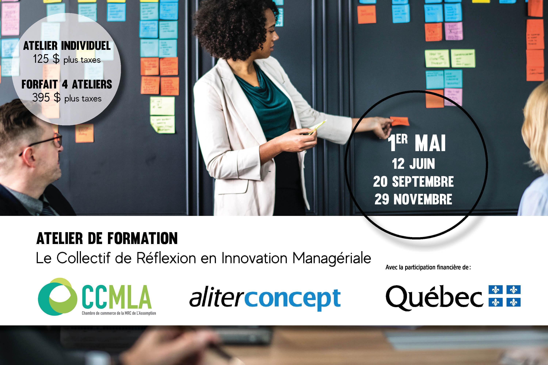Photo Atelier de formation - Le collectif de Réflexion en Innovation Managériale - 12 avril 2019