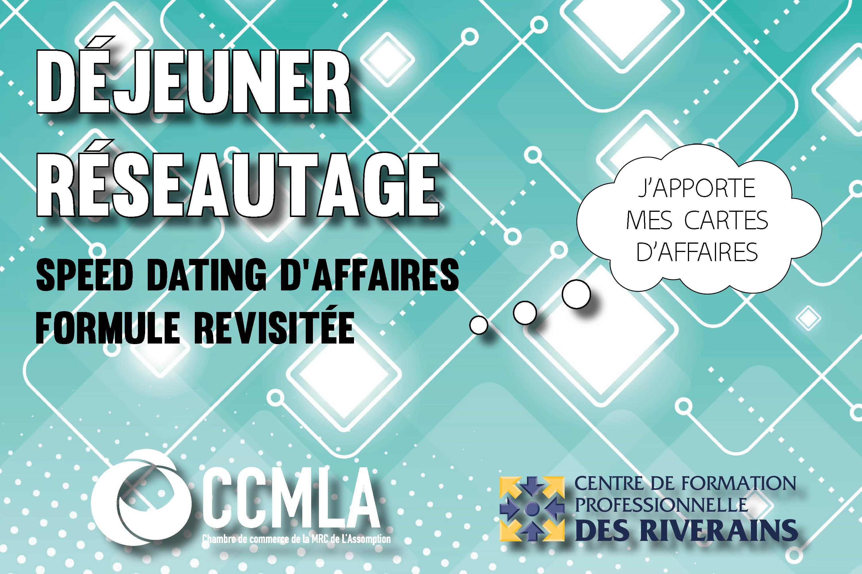 Photo Déjeuner réseautage - formule revisitée speed dating- 12 décembre 2019